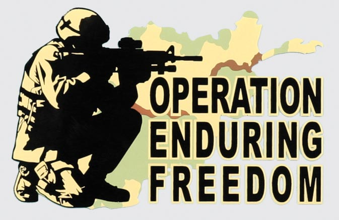 Operation Enduring Freedom – Anderson Triggs